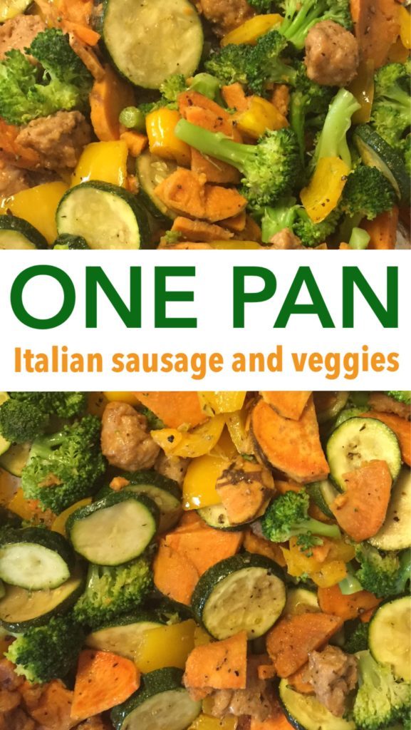 One pan, easy recipe, family dinner