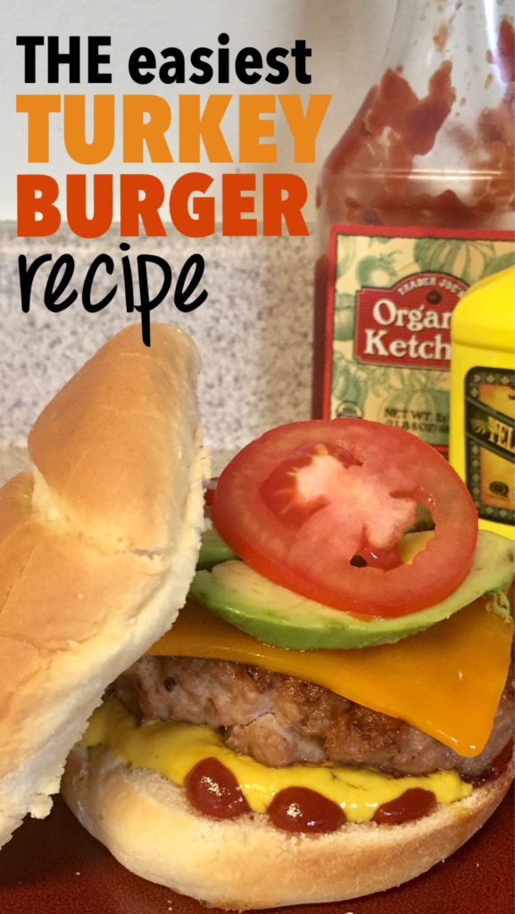 Turkey burger recipe, easy recipes, family meals