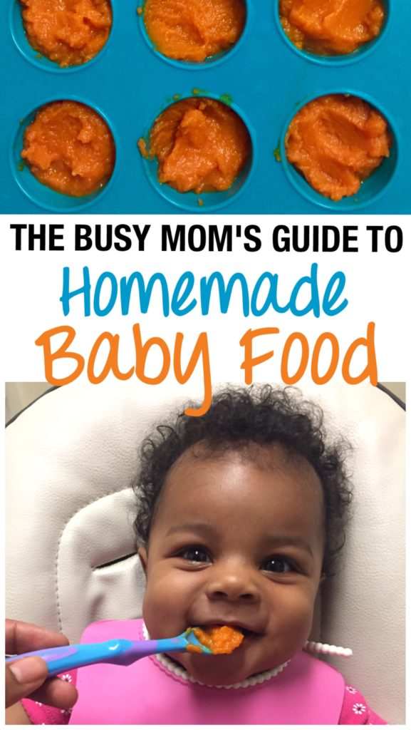 homemade baby food for busy moms