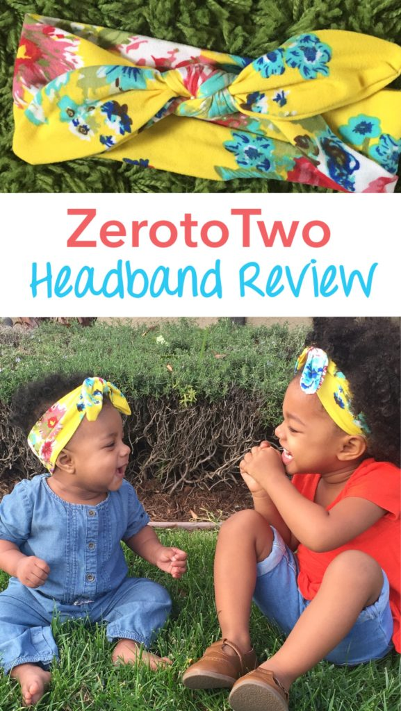 ZerotoTwo headbands, matching headbands, sisters