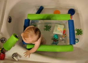 bathtub hacks for babies and toddlers, bath safety