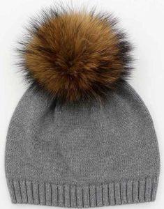 zero to two gray knit beanie