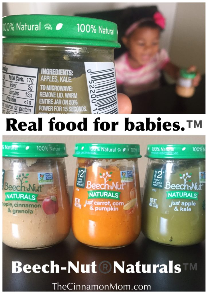 Beech Nut Naturals Are Real Food For Babies