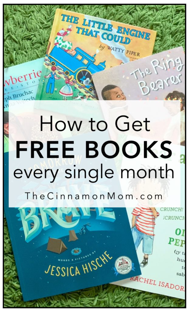 Have FREE Books Mailed to Your Child Every Month •